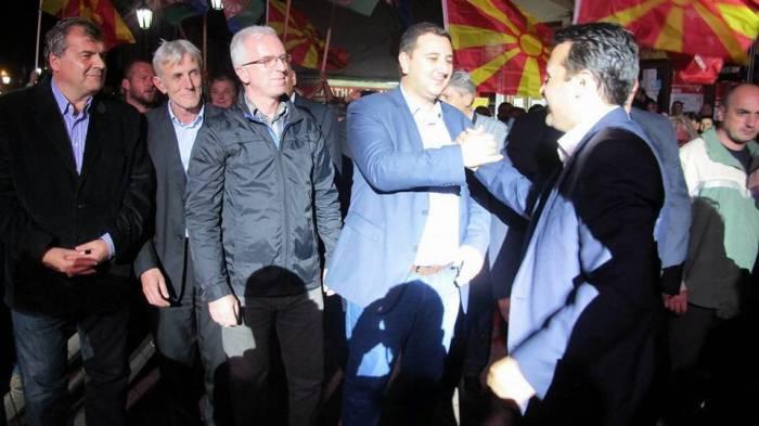 Makedoniyada ölkəmizi müdafiə edən siyasətçi partiya sədri ola bilər