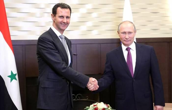 """Putin və Əsəddən dünyaya mesaj: """"Suriyanı birlikdə xilas etdik"""""""