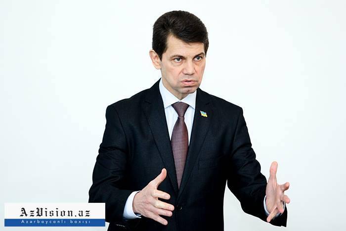 Ukrayna səfiri Əliyev-Poroşenko görüşünü şərh etdi - EKSKLÜZİV