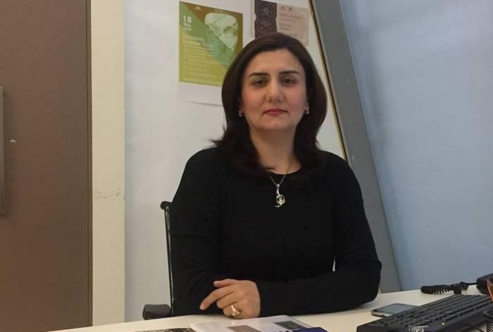 Zeynab Kazımova mətbuat katibi təyin edilib
