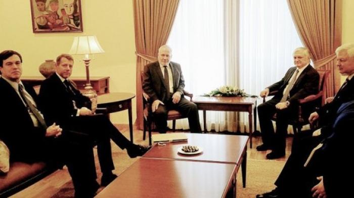 OSCE MG co-chairs meet with Armenian FM