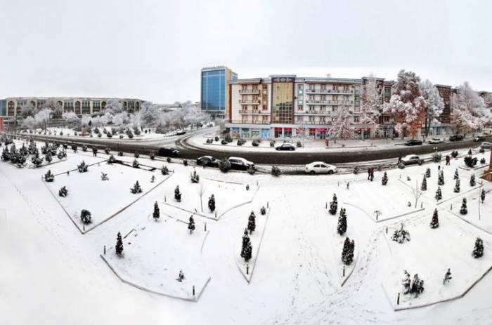 Qarlı Naxçıvan - FOTOLAR