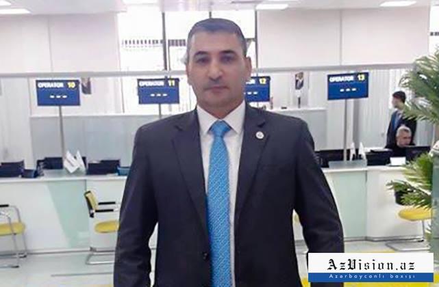 """Qarabağ qazisi """"ASAN-xidmət""""də işlə təmin olunub - FOTO"""