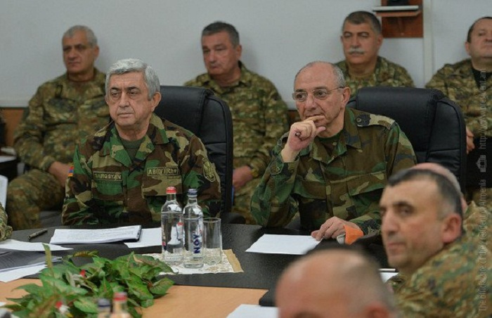 Sarkisyan Qarabağda separatçılarla görüşdü – FOTO
