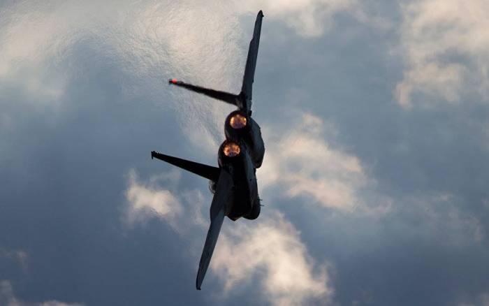 """Suriyada İsrailə məxsus """"F-16"""" vuruldu - FOTO (Yenilənib)"""