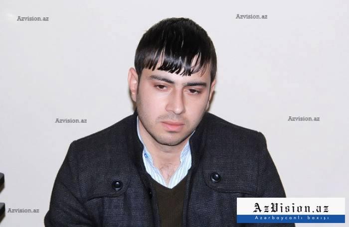 """Dilqəm Əsgərovun oğlu: """"Atamın azad olunacağına inanıram"""""""