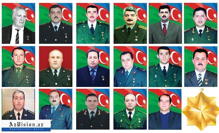 Sağ qalan Milli Qəhrəmanlarımız - ADLAR