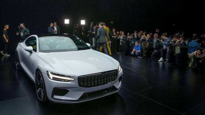 Volvo schiebt den Polestar 1 auf die Straße