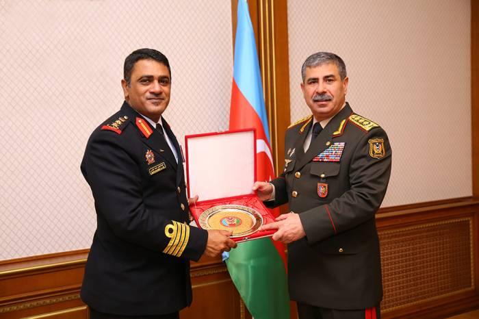 """Zakir Həsənov """"Ali zabit"""" medalı ilə təltif edildi - FOTOLAR"""