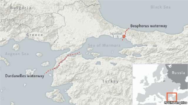 La Turquie pourrait t-elle bloquer l`accès de la Russie à l`une de la plupart des voies maritimes stratégiques du Monde? -  Dernière minute