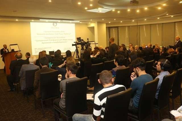 """Armenia-Azerbaijan Civil Peace Platform"" issued statement - PHOTOS"