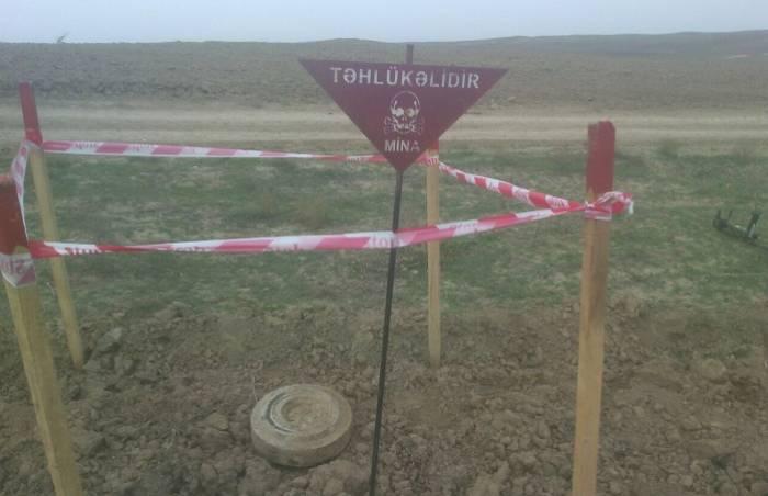 Füzulidə tank əleyhinə mina tapılıb