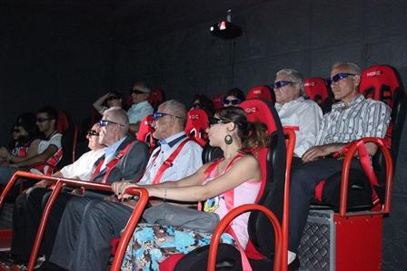 "Qocalar ""10D Cinema""-da - FOTO"