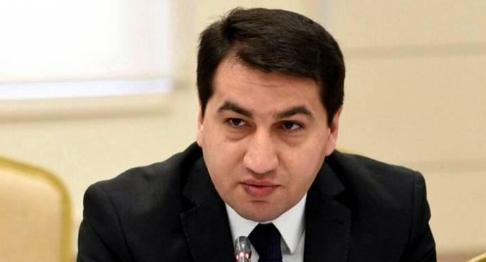 Hikmet Hadjiyev : L'Arménie cherche à empêcher le règlement du conflit par les négociations substantives
