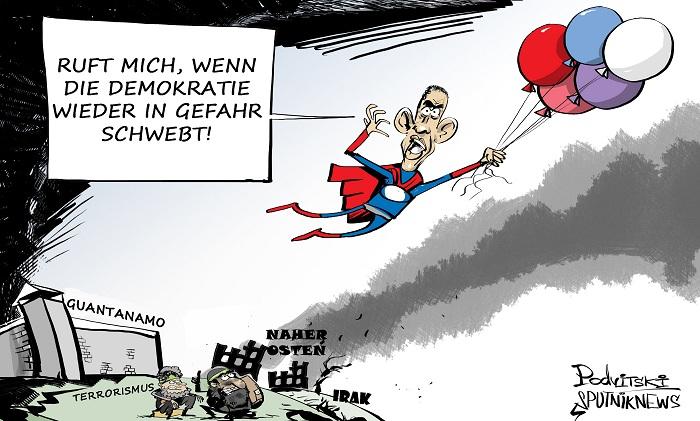 Super-Barack: Mehr Krieg, Terror und Armut