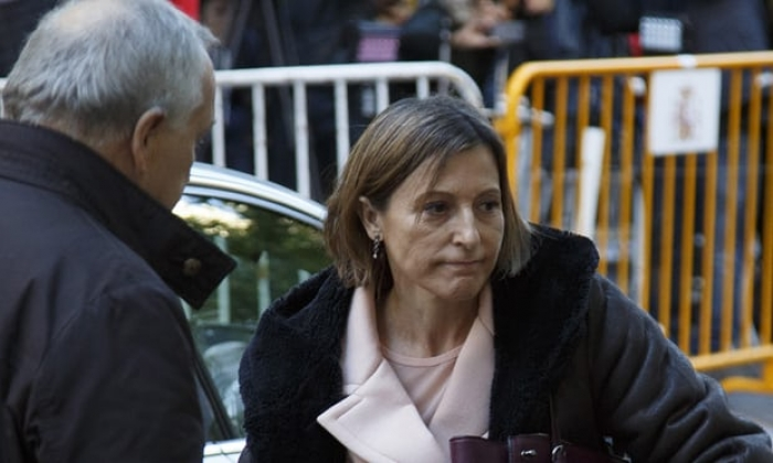 Catalan parliament speaker appears in court on sedition charge