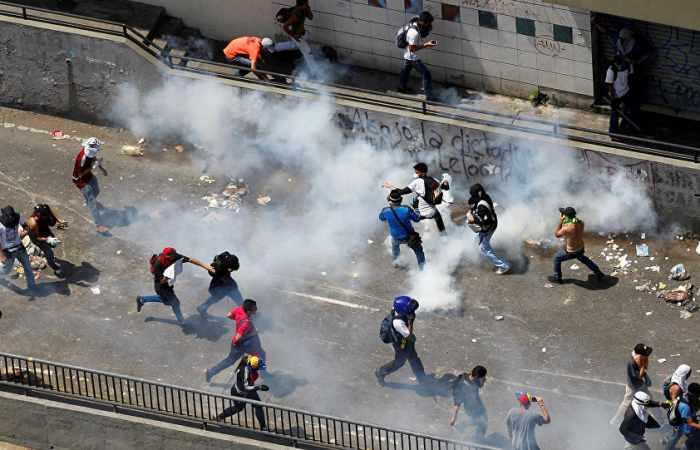 Venezuela: Anti-Maduro-Proteste fordern Tote und hunderte Verletzte