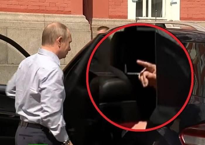Geheimnis um Putin-Begleitung im Mercedes gelüftet