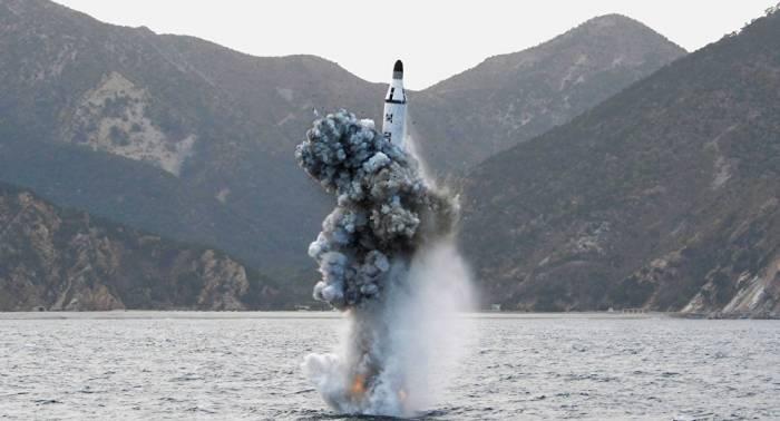 Nordkorea baut wohl sein größtes U-Boot für ballistische Raketen
