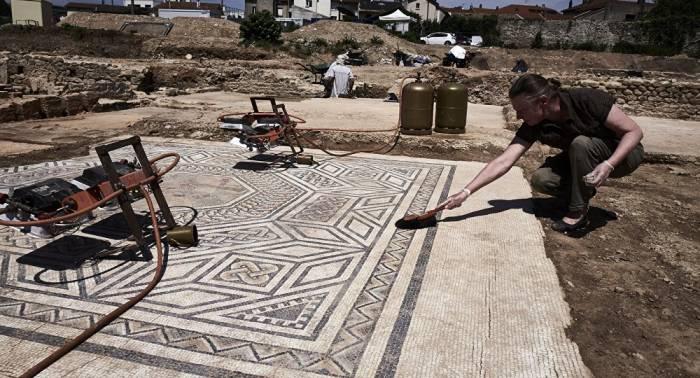 """Frankreich: Archäologen entdecken """"kleines Pompeji"""""""