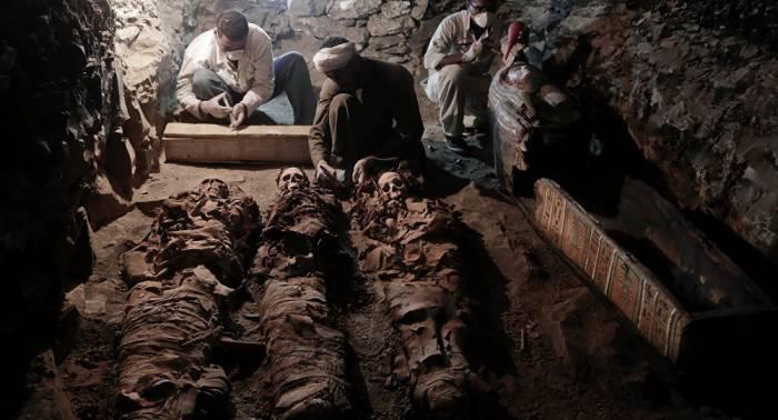 Grabkammer eines Goldschmieds aus Pharaonenzeit entdeckt