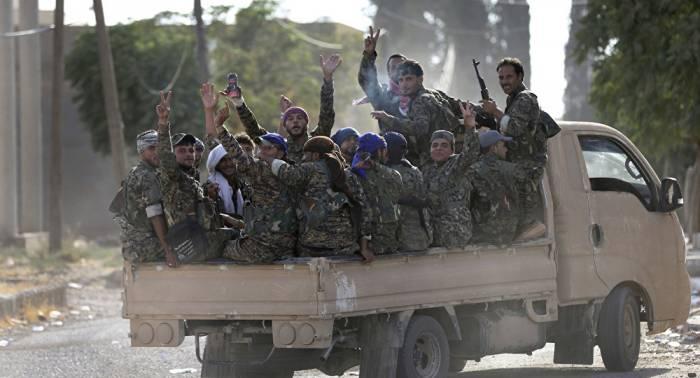 IS-Terroristen fliehen aus US-kontrollierten Gebieten