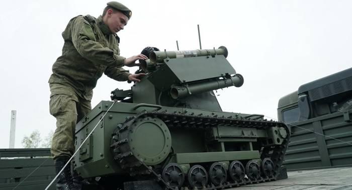 Unbemannte Panzer für Russland und ihre Chancen