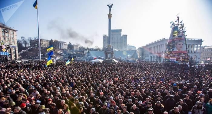 Lawrow nennt Maidan-Revolution Schande Europas
