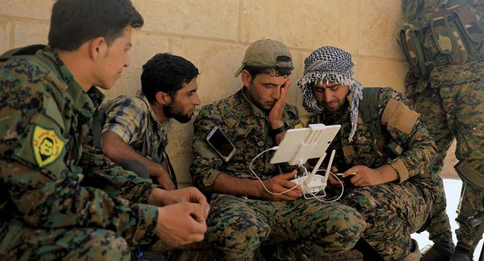 Syrische Extremisten machen sich in Mitteln elektronischer Kampfführung firm