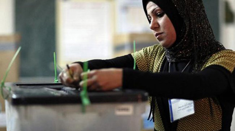 Iraqis vote on Wednesday as violence grips country