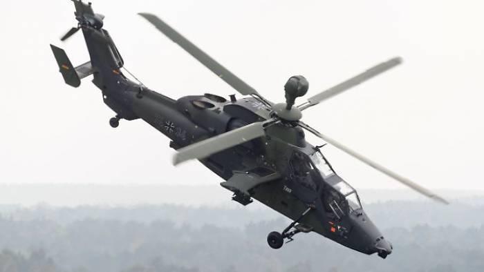 Hubschrauber ging urplötzlich in Sinkflug