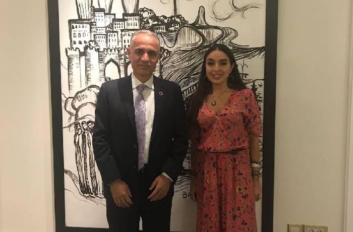 Leyla Aliyeva a rencontré Ghulam Isaczai, coordinateur résident de l'ONU en Azerbaïdjan