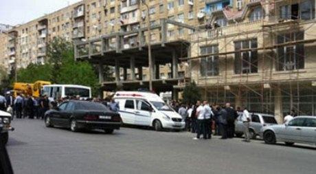 Sərnişin avtobusu kranla toqquşub, 10 YARALI - YENİLƏNİB