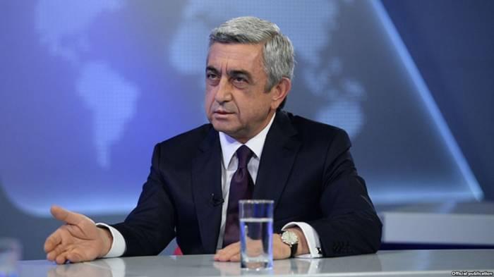 « Lavrov n'a pas apporté de nouvelles propositions sur la question de Karabakh », Sarkissian