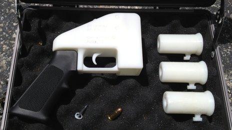 3D texnologiyalı ilk odlu silah yaradıldı