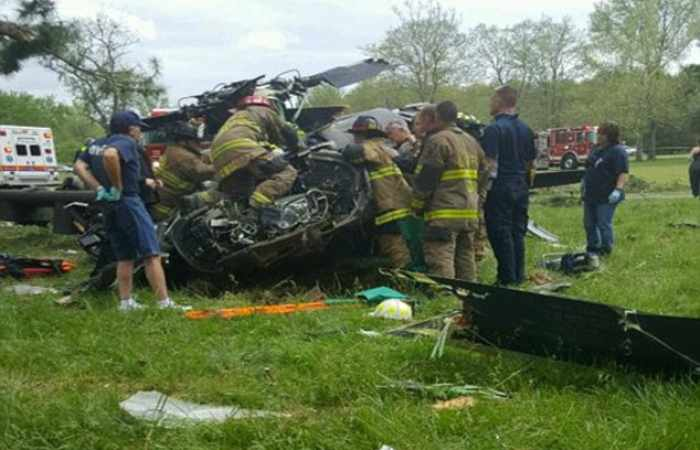 1 dead, 3 injured after Blackhawk helicopter crashes in southern Maryland - VIDEO, UPDATED