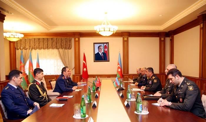 Azərbaycan-Türkiyə hərbi əməkdaşlığı genişləndirilir - FOTOLAR
