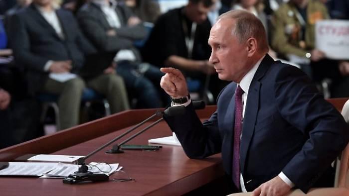 Putin sieht sich als Stabilitätsgarant