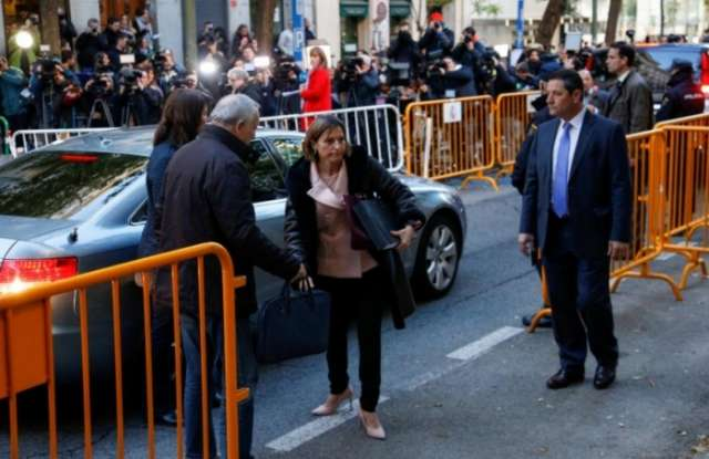 Spanish Supreme Court frees Catalan parliament speaker on bail