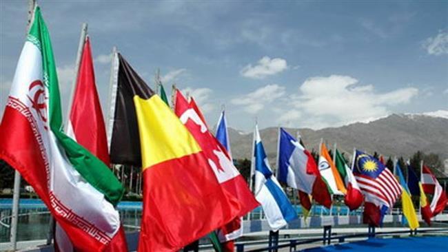 L`ouverture de la 21e exposition internationale de pétrole de Téhéran