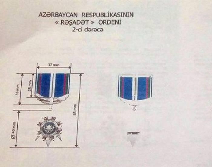 Ordu üçün yeni orden təsis edildi