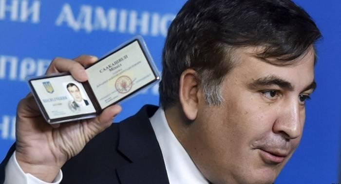 Saakaşviliyə Ukraynada yaşamağa icazə verildi