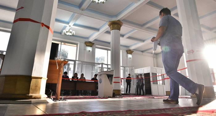 Début de l'élection présidentielle au Kirghizistan
