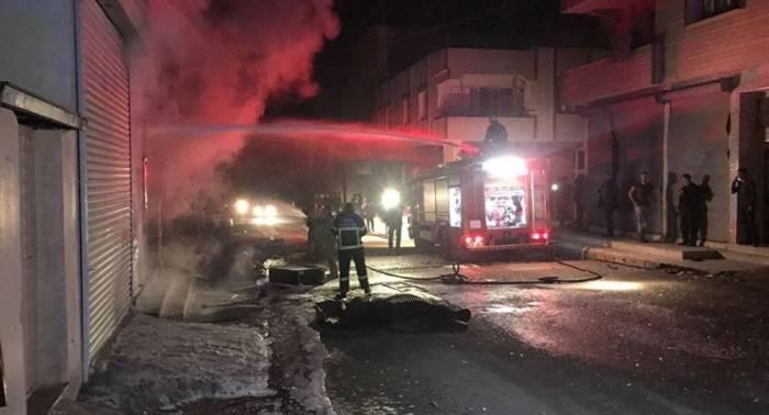 Afrindən Türkiyəyə 4 raket atılıb