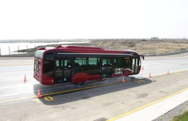 Yeni avtobuslar istifadəyə verildi