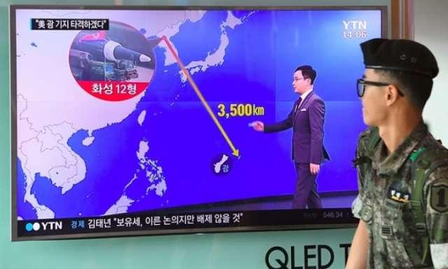 North Korea details Guam strike plan and calls Trump 'bereft of reason'
