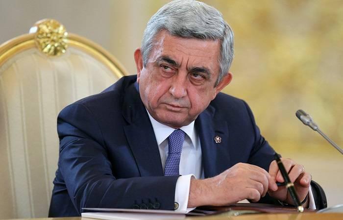 """""""Əliyevlə görüşə dair ilkin razılıq əldə olunub"""" – Sarkisyan"""