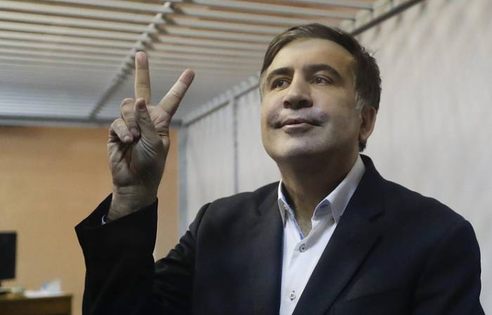 Saakaşvili azadlığa buraxıldı