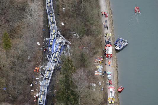 L'accident de trains en Allemagne serait dû à «une erreur humaine»