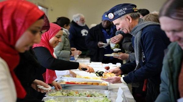 USA: rassemblement des vétérans en soutien aux muslmans